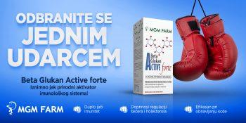 MGM Farm: Beta Glukan Active Forte – proizvod za jačanje otpornosti organizma!